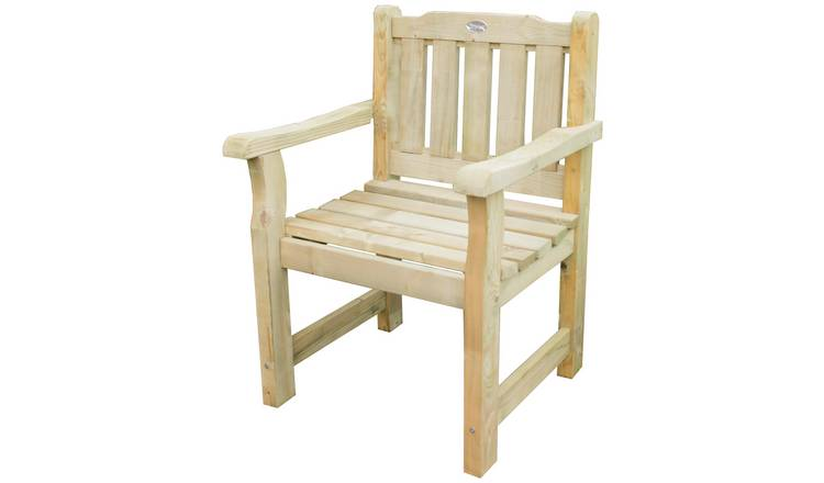 Cool Buy Forest Rosedene Wooden Garden Chair Garden Chairs And Sun Loungers Argos Interior Design Ideas Tzicisoteloinfo