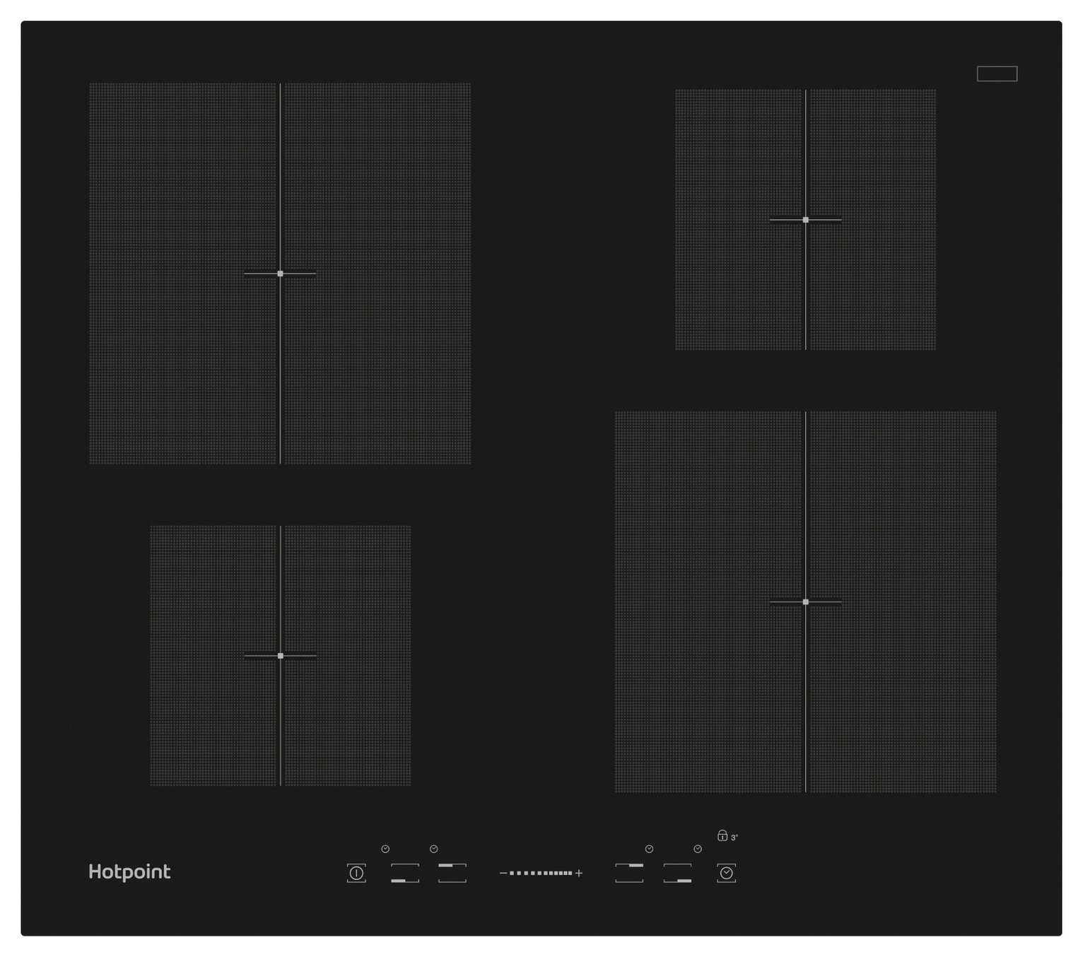Hotpoint CIS640B Electric Induction Hob - Black