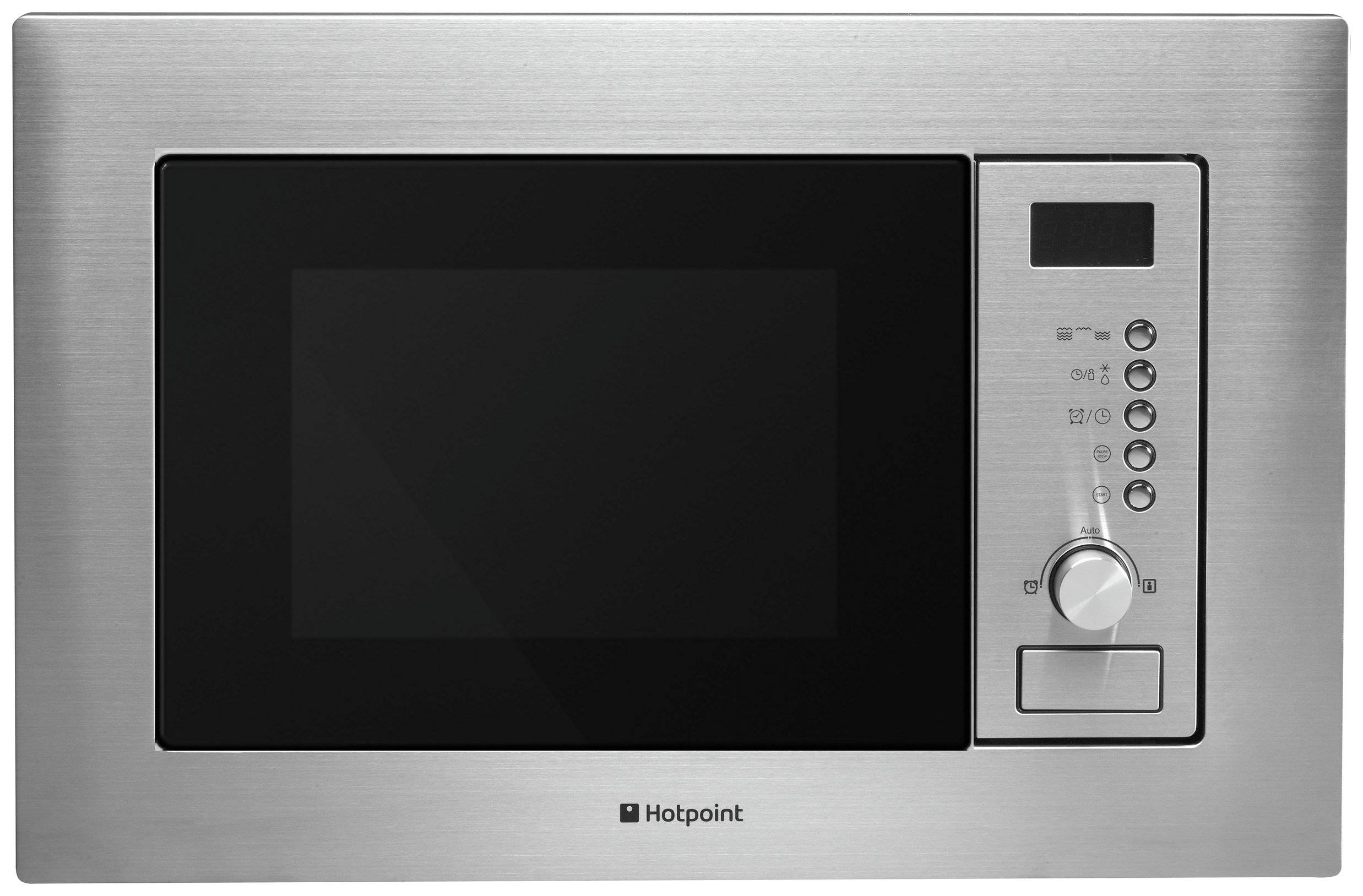 Hotpoint MWH122 1200W Microwave - Stainless Steel