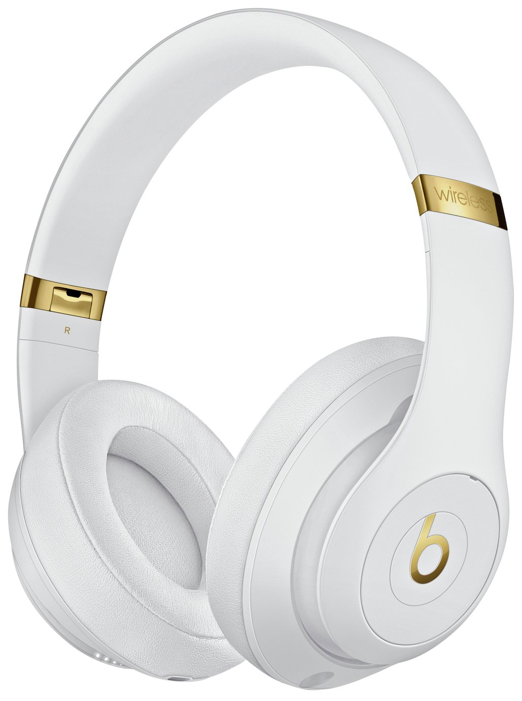Image of Beats by Dre Studio 3 Wireless Over-Ear Headphones - White