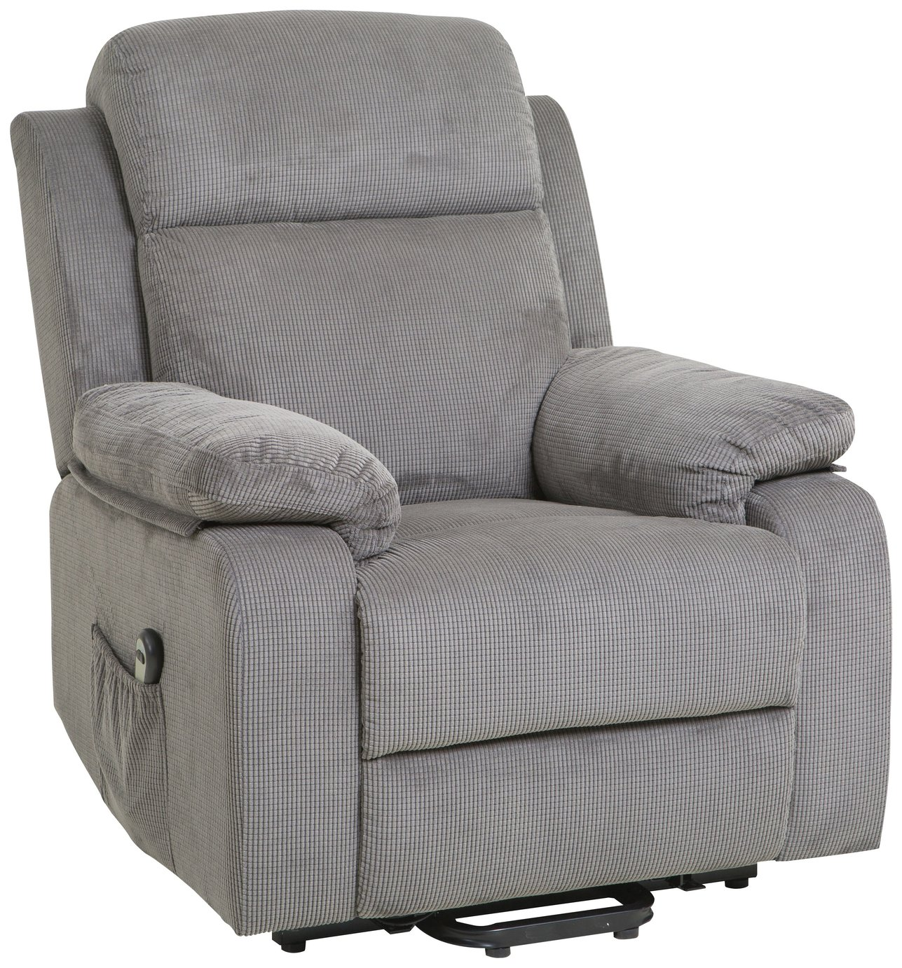 Argos Home Bradley Fabric Charcoal Riser Recliner