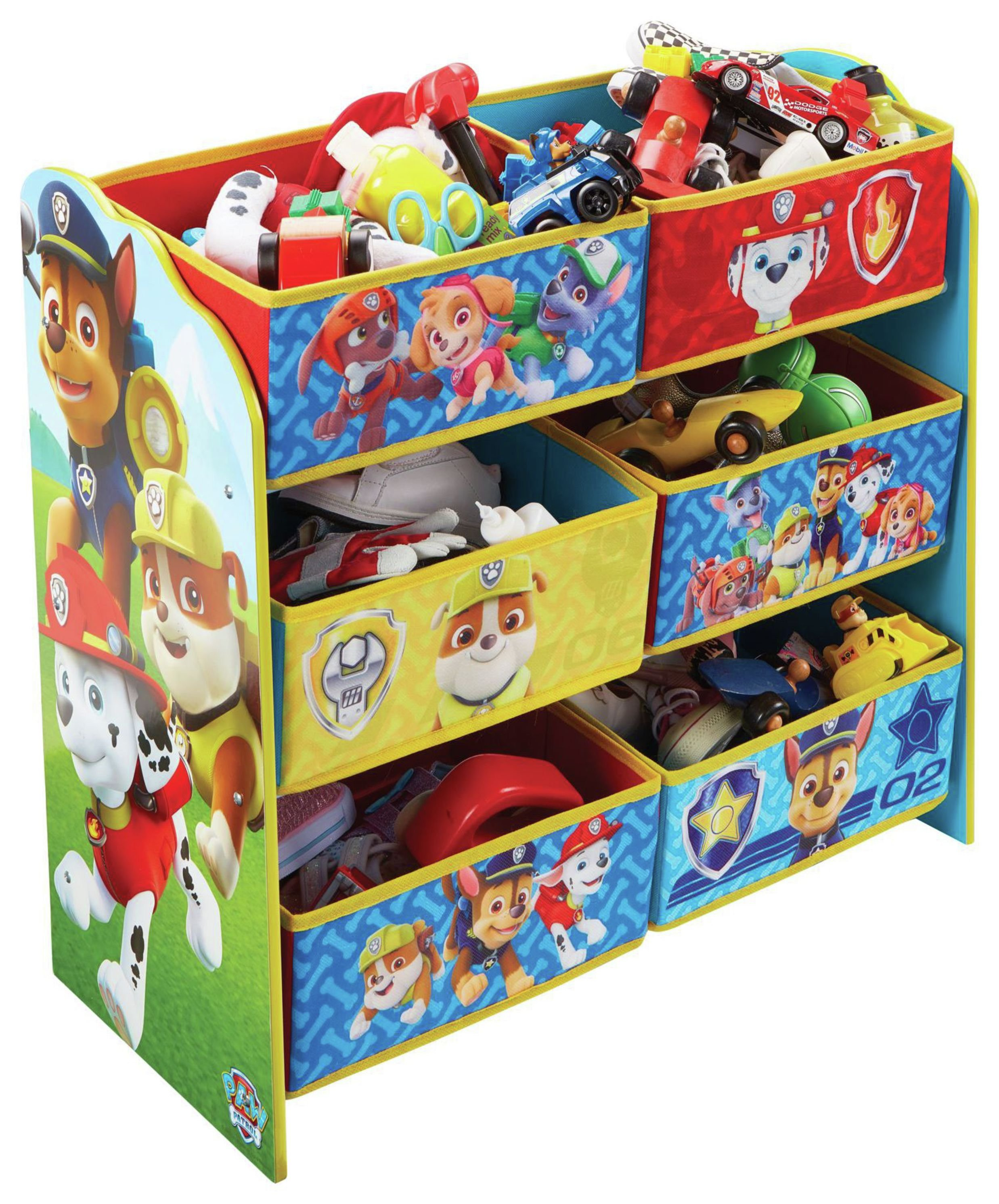 Paw Patrol Toy Organizer Bin Cubby Kids Child Storage Box: SALE On Paw Patrol Kids Storage Unit