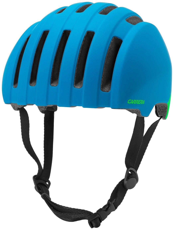 Image of Carrera Precinct Helmet - Matte Cyan Reactor - 58-61cm