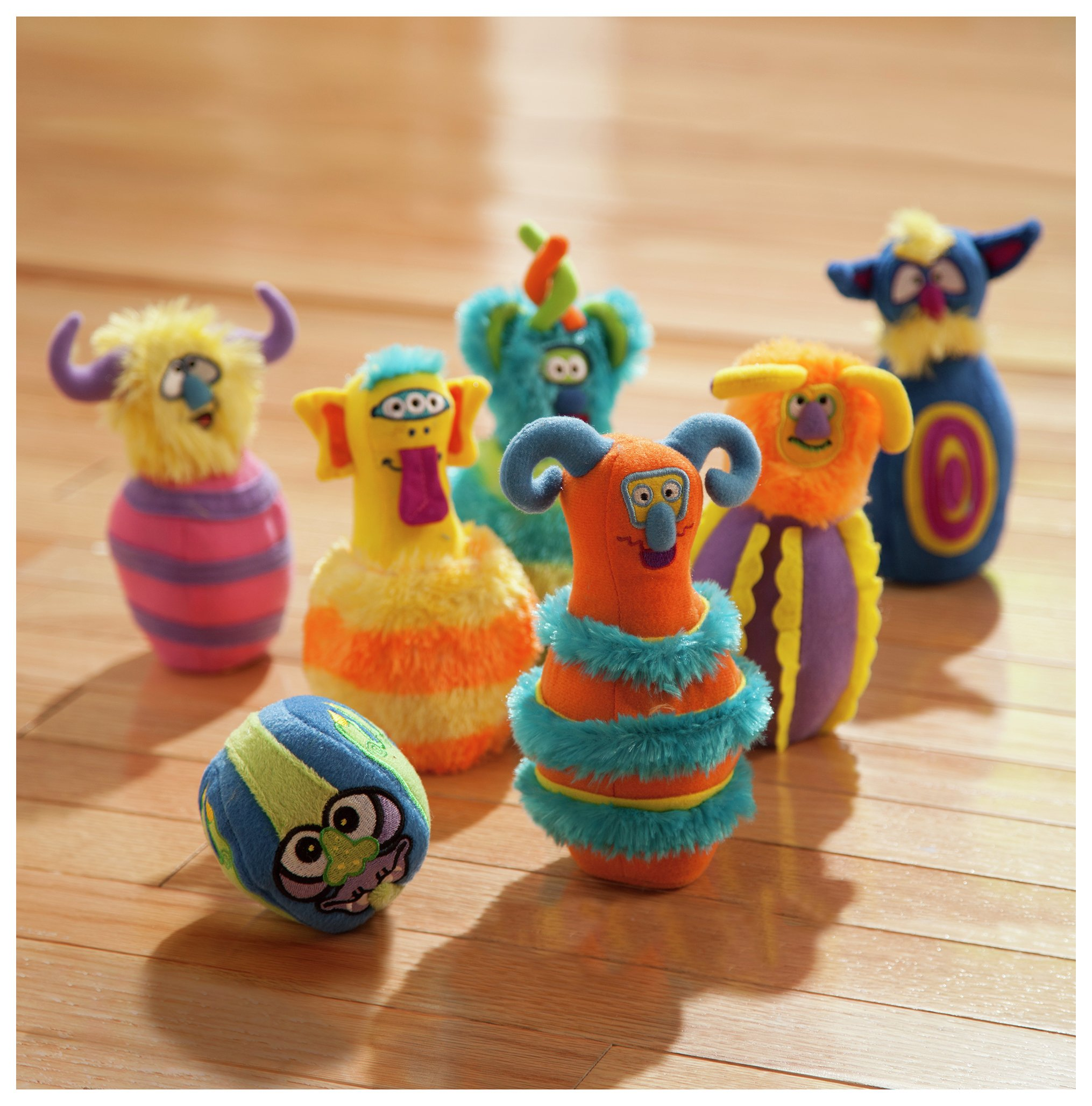 Melissa & doug Monster Bowling Soft Toy Set