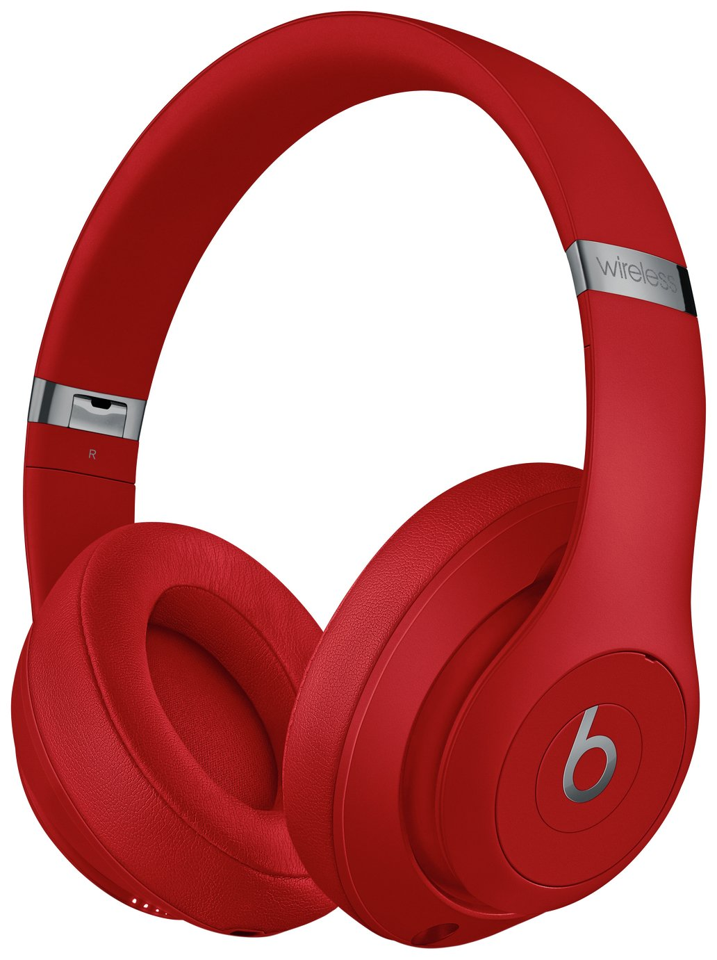 Image of Beats by Dre Studio 3 Wireless Over-Ear Headphones - Red