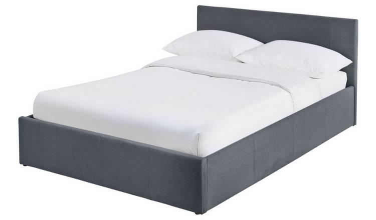 Buy Argos Home Heathdon Side Open Ottoman Double Bed Frame