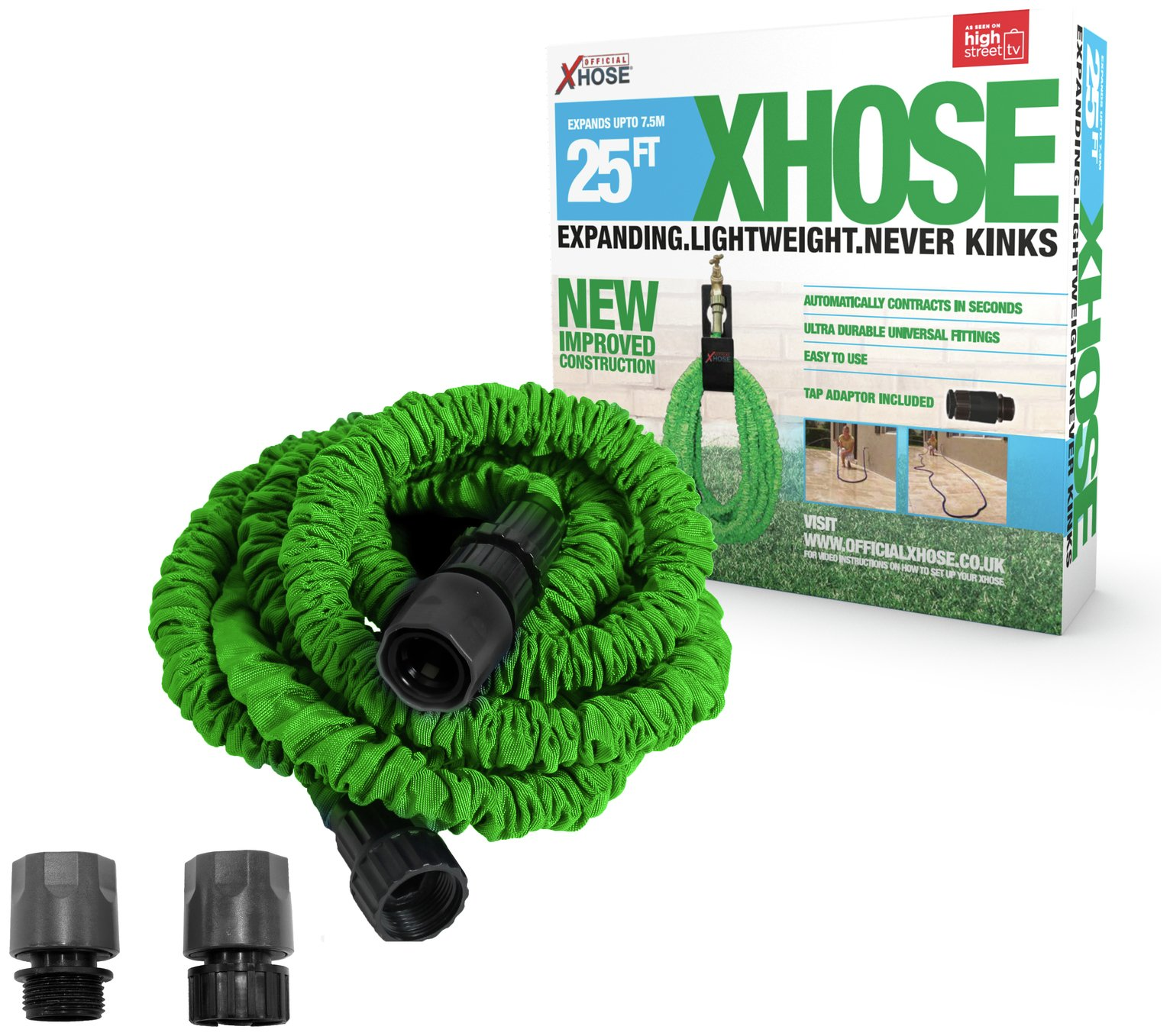 xhose green 25ft hose gay times. Black Bedroom Furniture Sets. Home Design Ideas