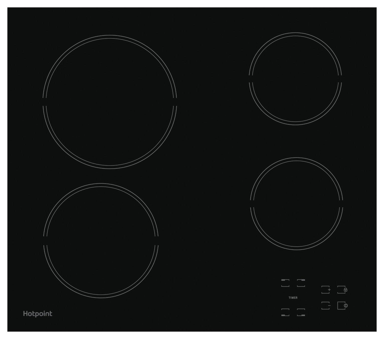 Hotpoint HR651CH Electric Ceramic Hob - Black