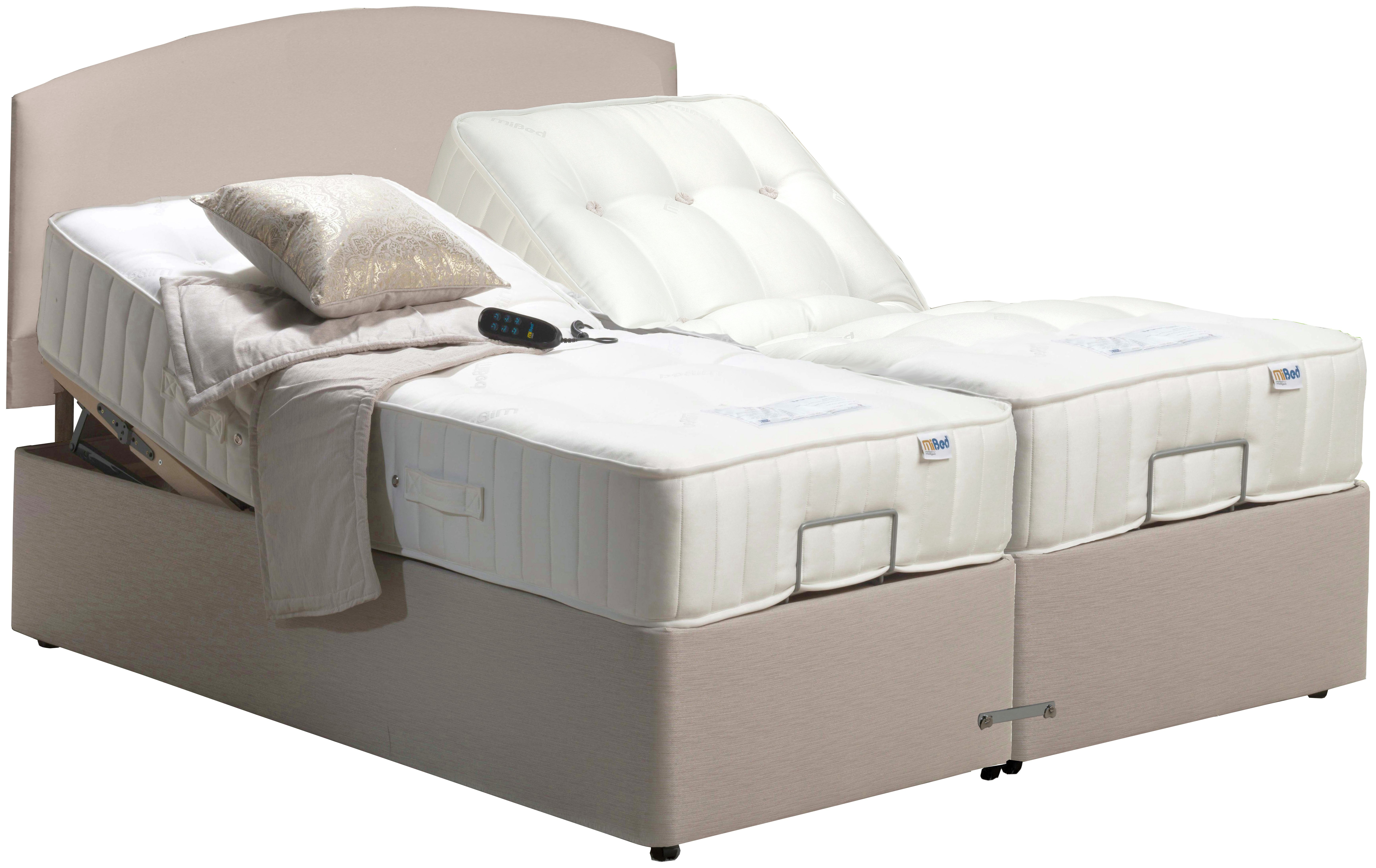 MiBed Adjustable Newquay King Bed. at Argos