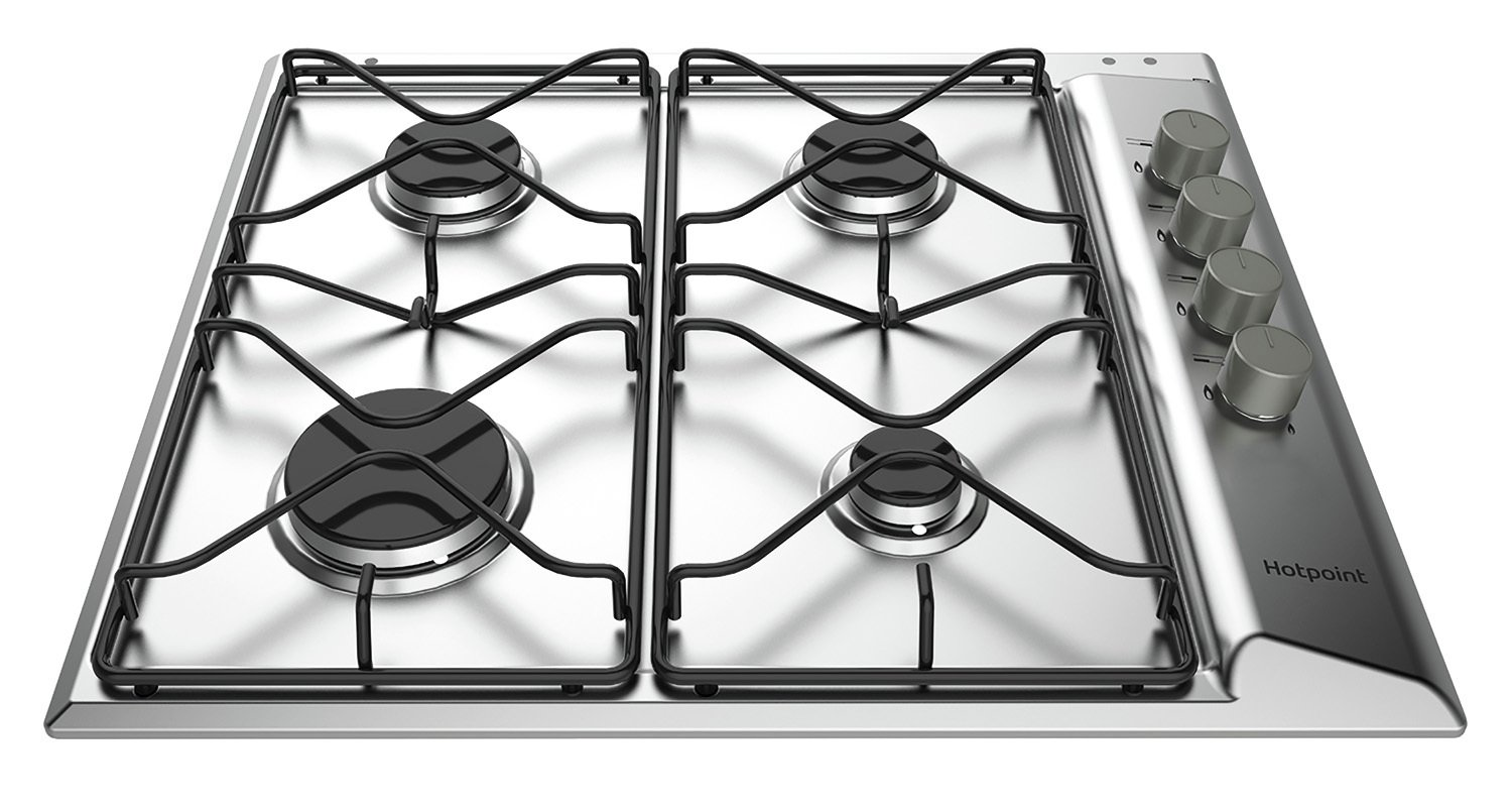 Hotpoint PAN642IXH Gas Hob - Stainless Steel