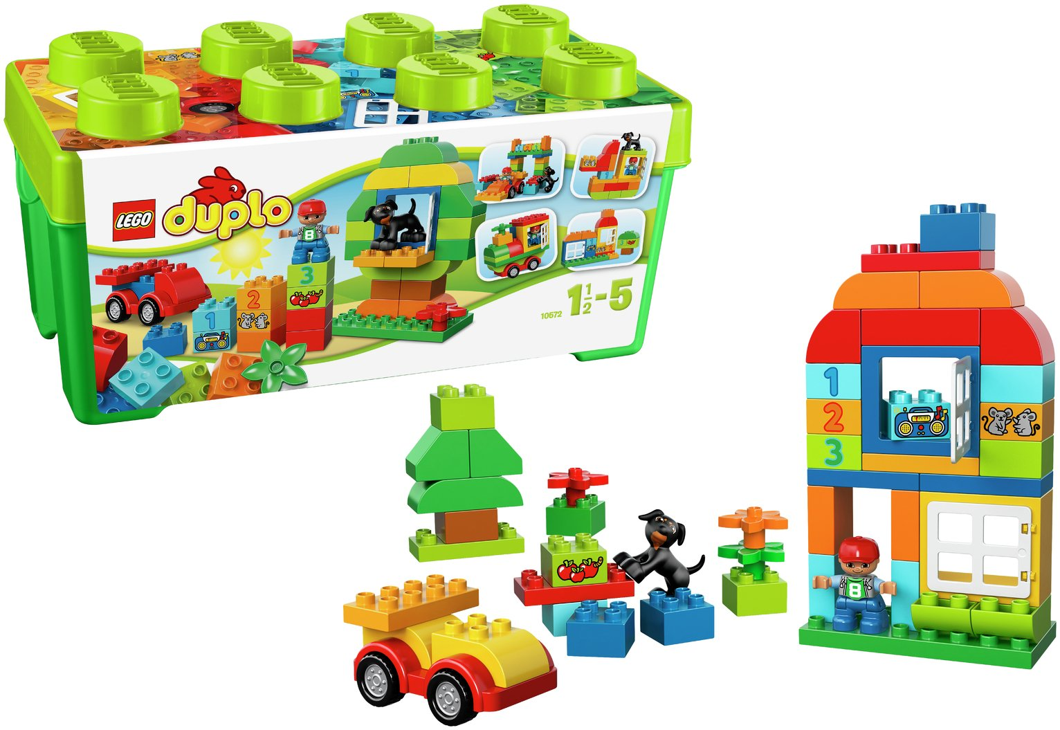 Image of LEGO DUPLO All-In-One Box of Fun Set - 10572