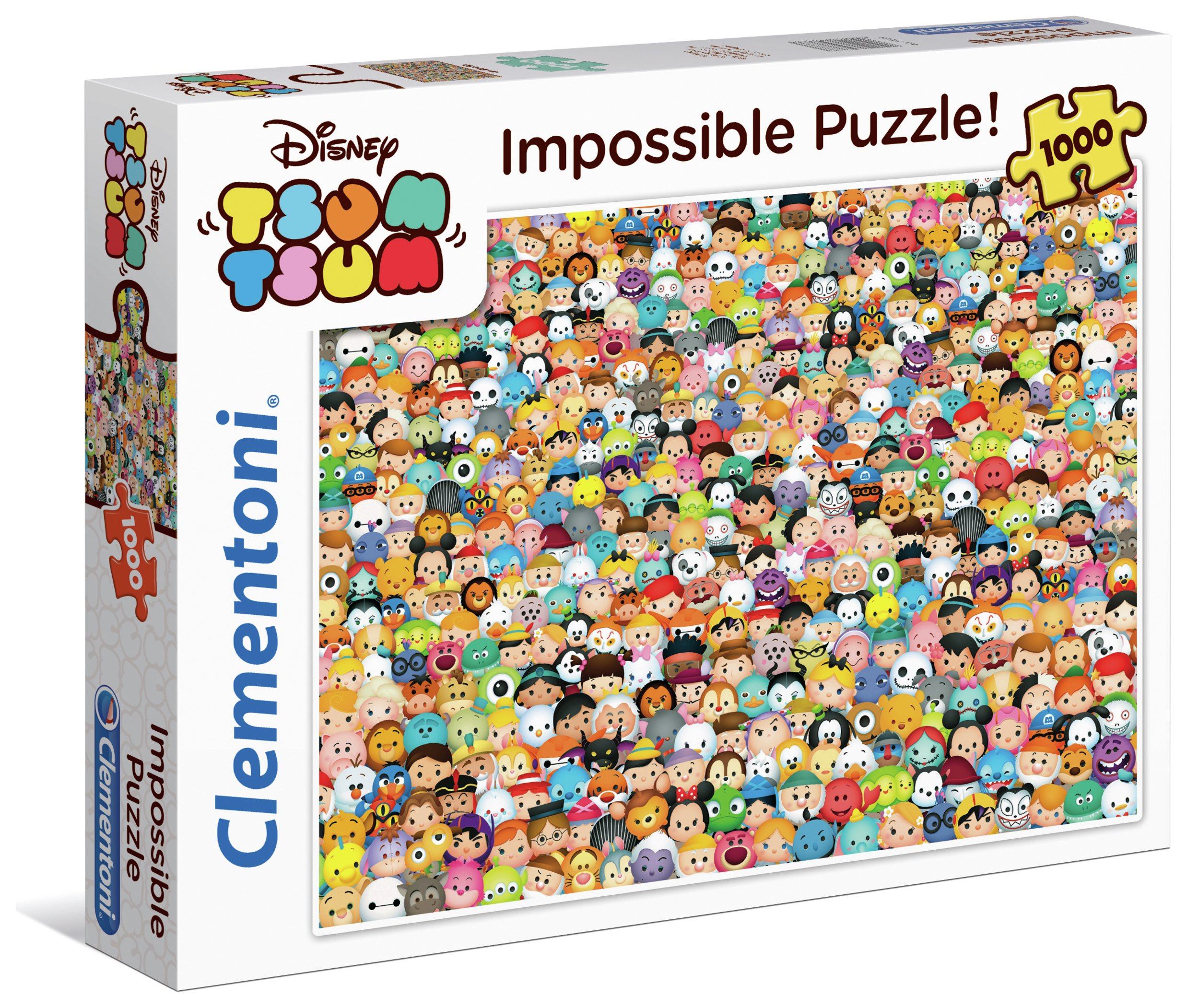 Image of Clenmentoni Tsum Tsum 1000 Impossible Puzzle