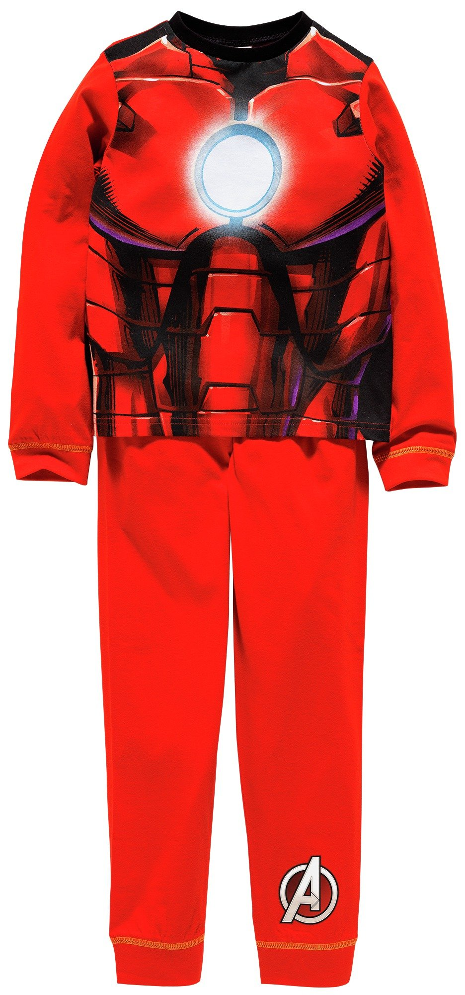 Image of Iron Man Novelty Pyjamas - 3-4 Years.
