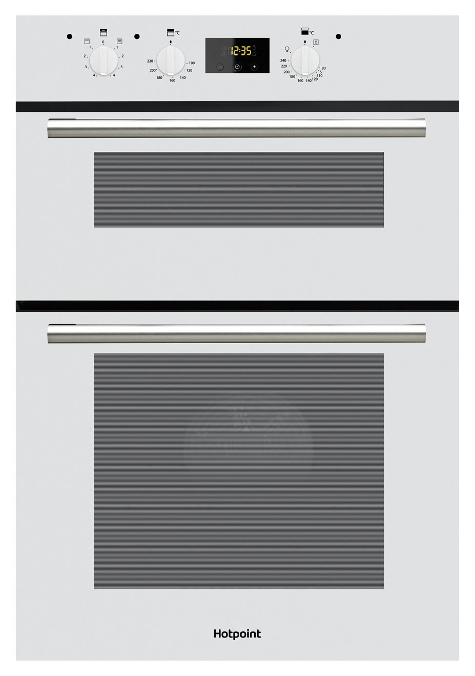 Hotpoint DD2540WH Built In Double Electric Oven - White