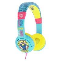 WWE Kids On-Ear Headphones - Yellow / Blue