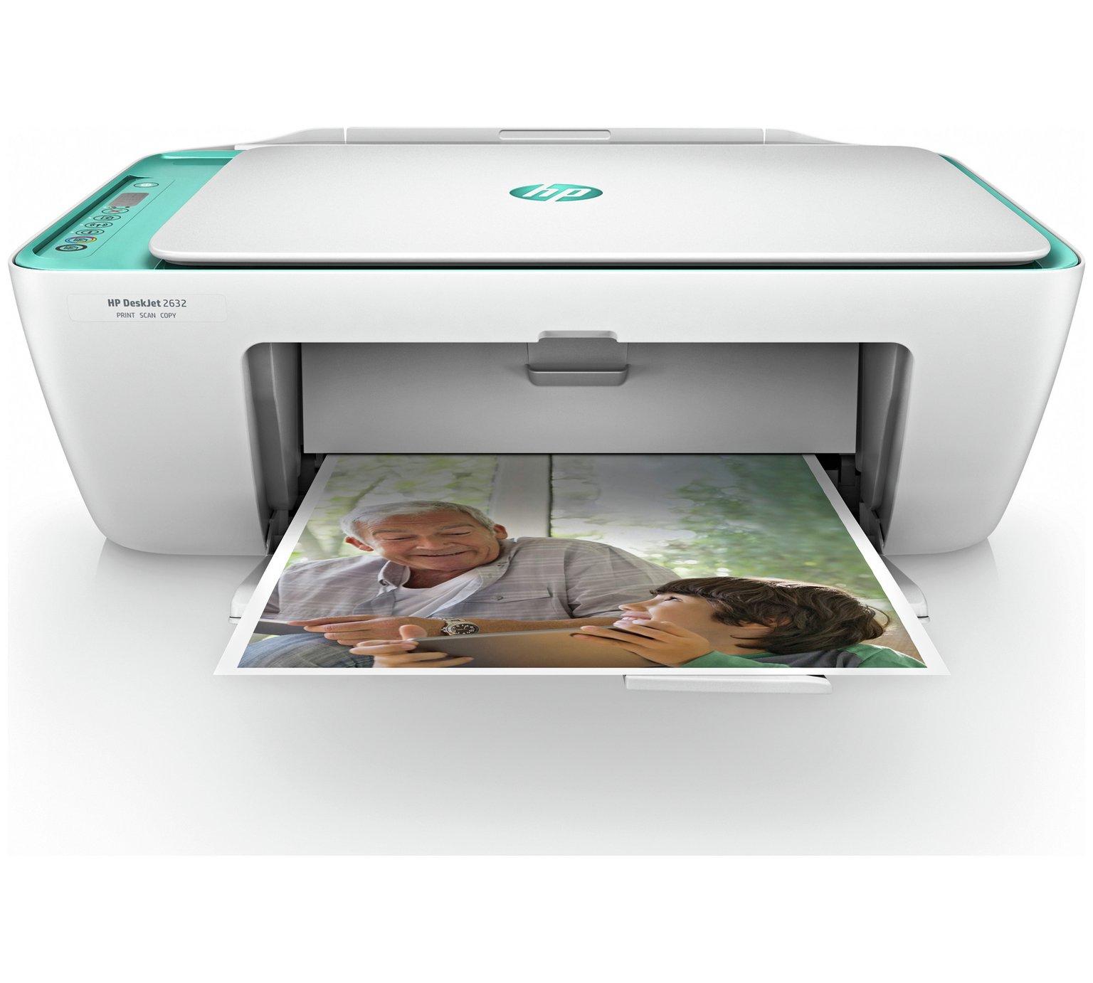 HP DeskJet 2632 Wireless All-in-One Printer