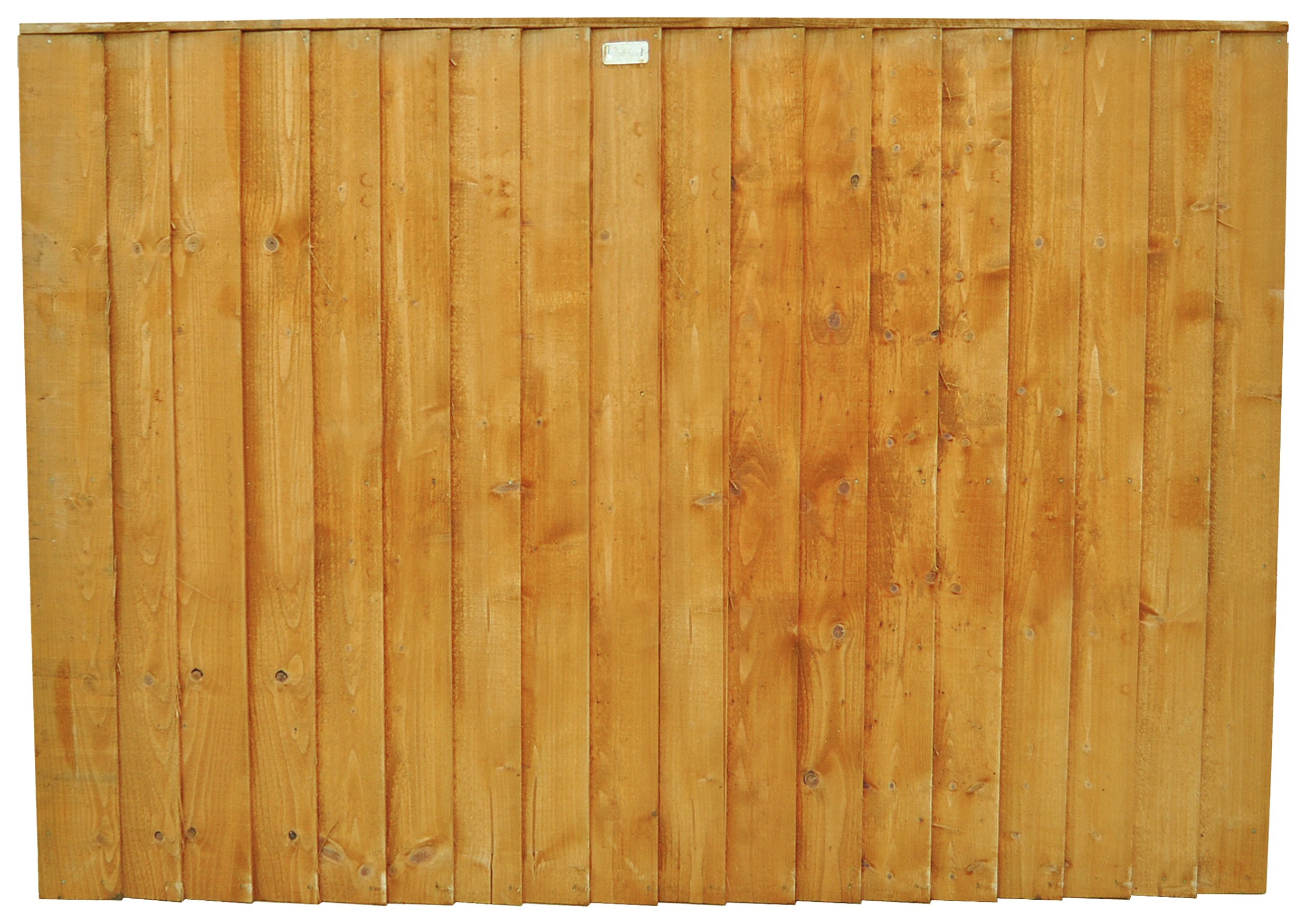 Forest 4ft (1.23m) Featheredge Fence Panel - Pack of 3