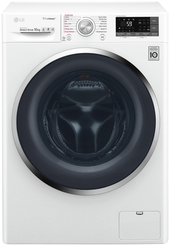 LG F4J8JS2W 10KG 1400 Spin Washing Machine - White