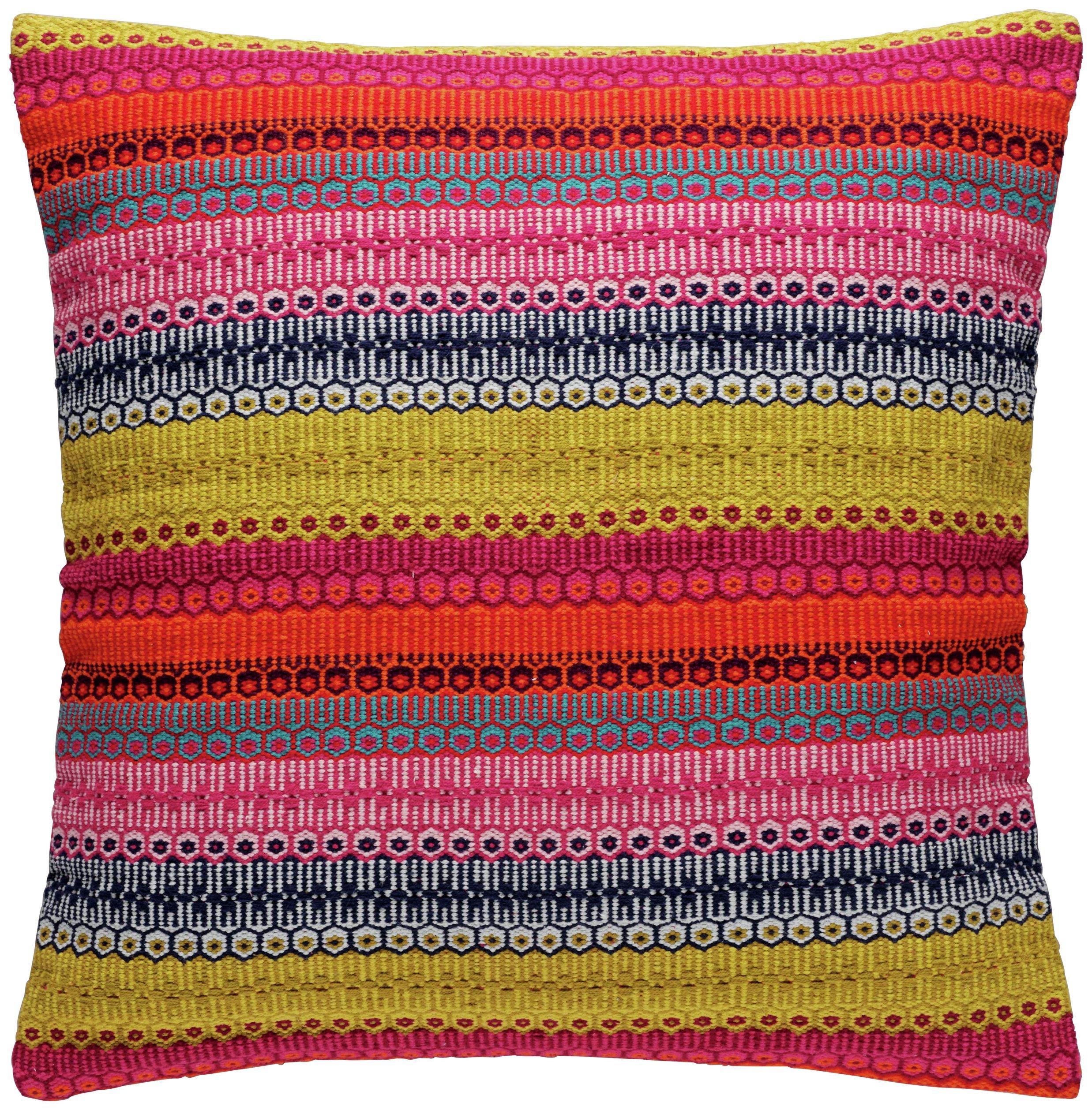 Habitat Agnes Cushion 60x60cm - Multicoloured