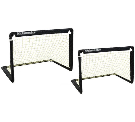 Kickmaster One on One Folding Goals