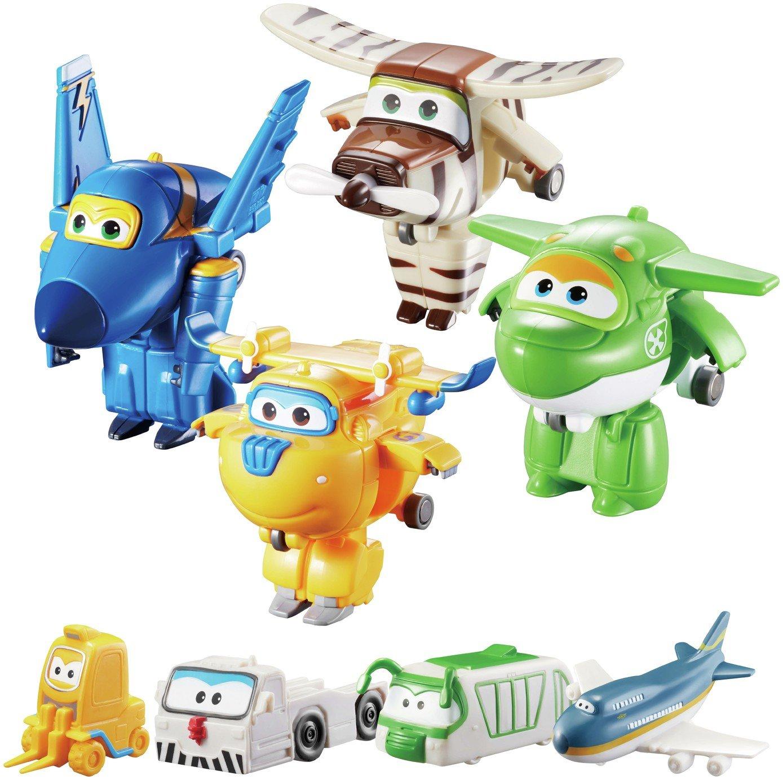 Super Wings World Airport Crew -Jerome, Donnie, Bello, Mira