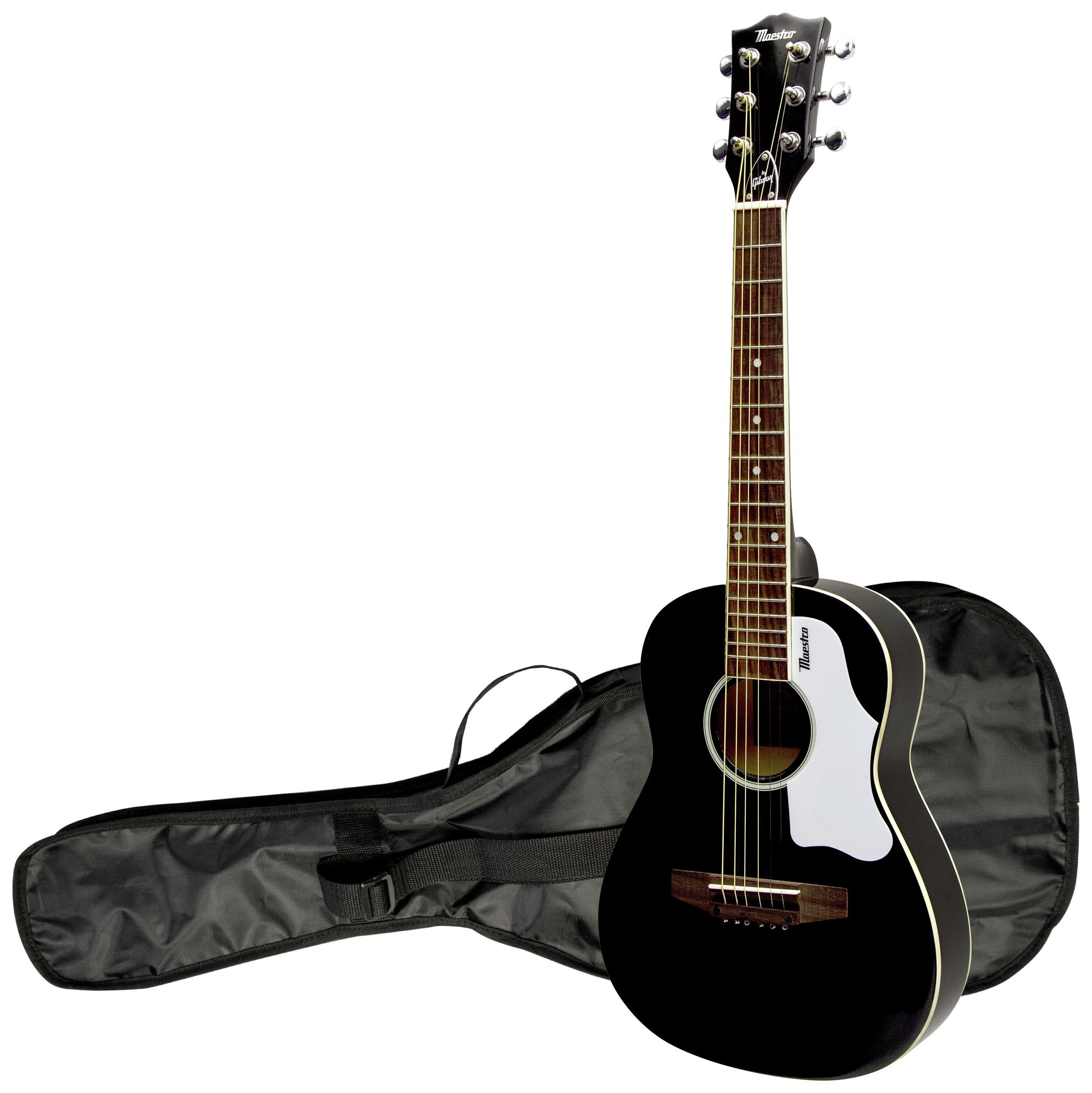 Maestro By Gibson 30 Inch Mini Guitar Black 7396205 Argos Price Tracker Pricehistory Co Uk