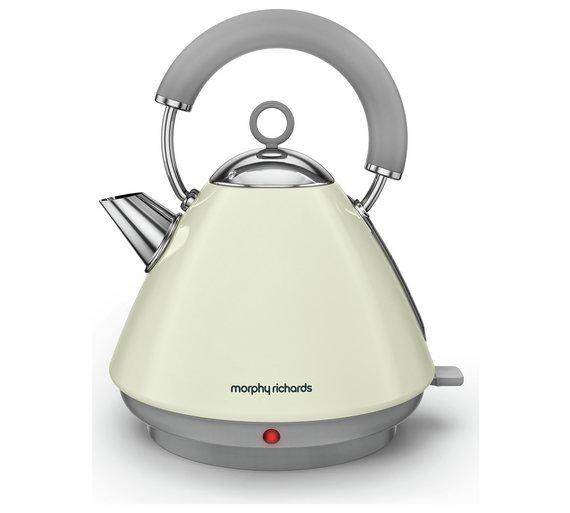 Morphy Richards Uk: Morphy Richards Accents Pyramid Kettle - Cream
