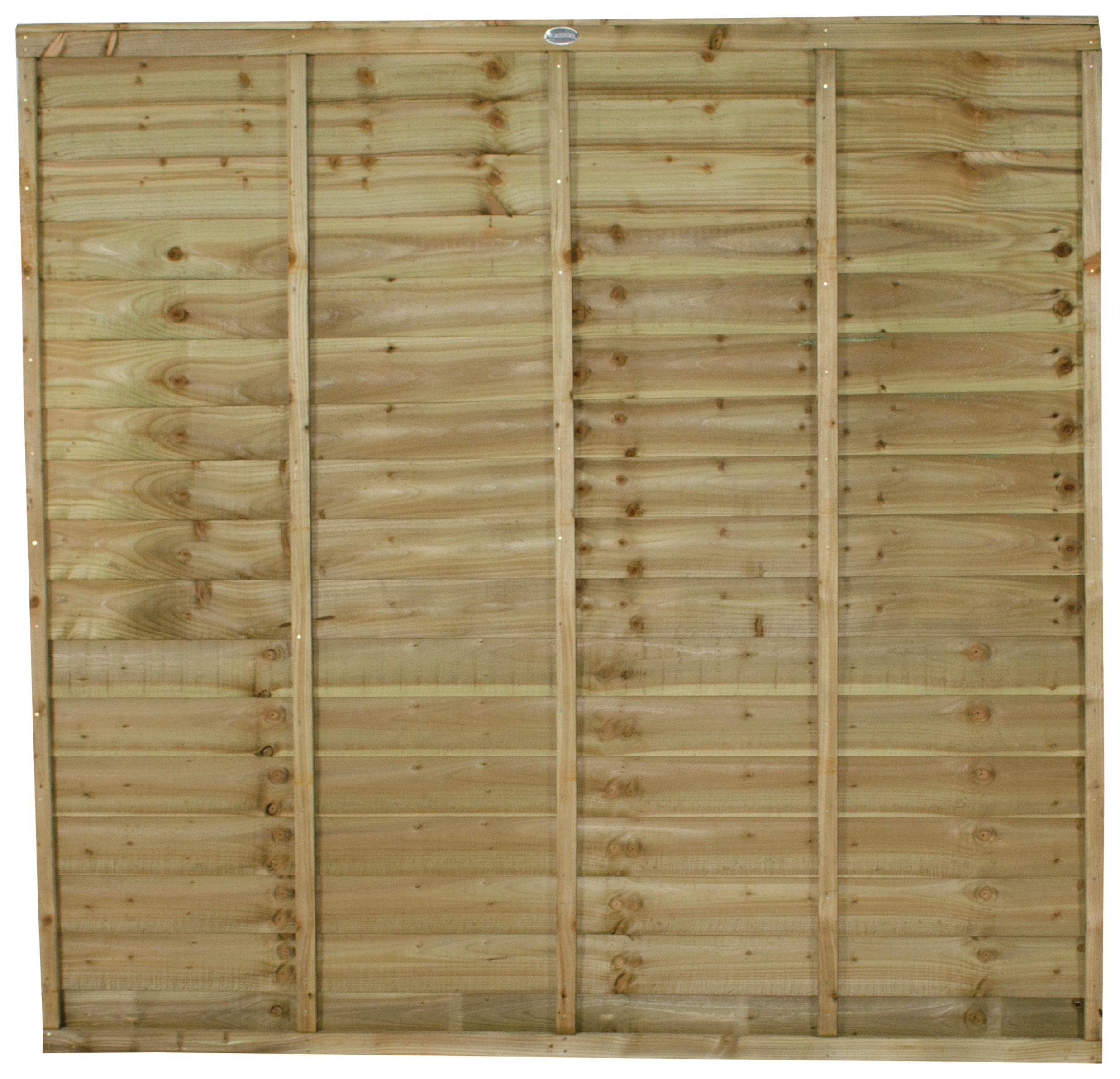 Forest 6ft (1.83m) Superlap Fence Panel - Pack of 4