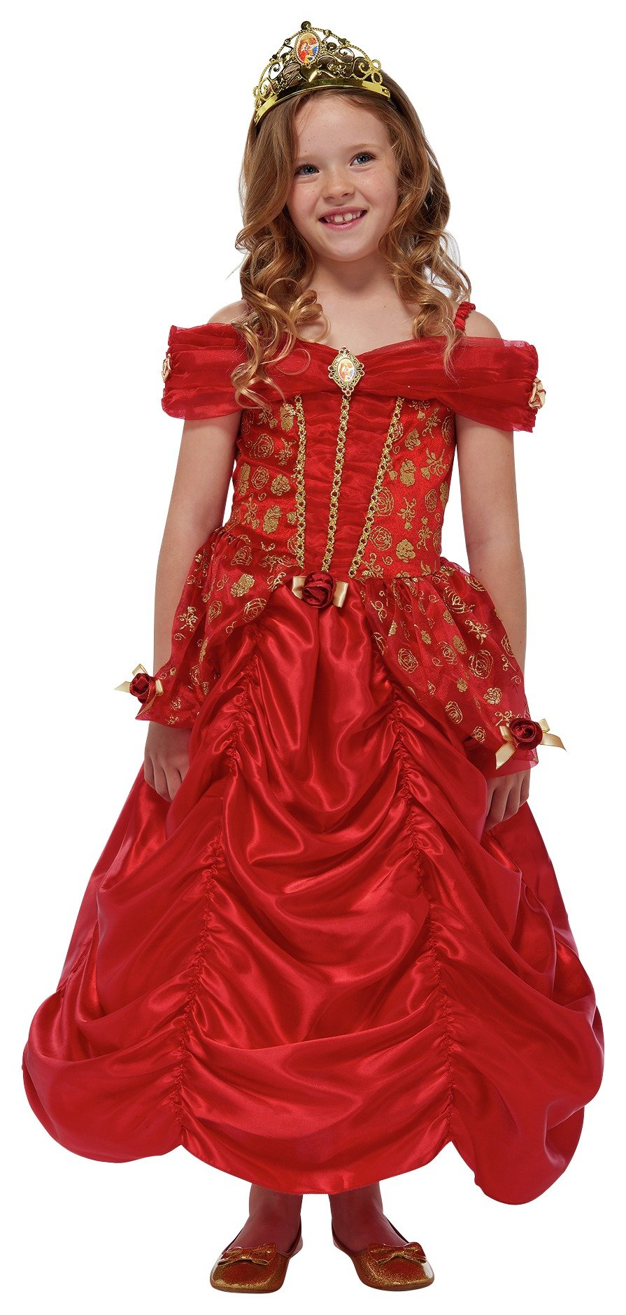 Image of Disney Princess Belle Fancy Dress Costume - 7-8 Years