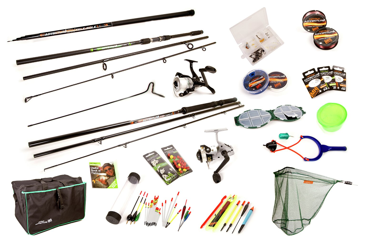Matt Hayes Adventure Complete Coarse Fishing Set