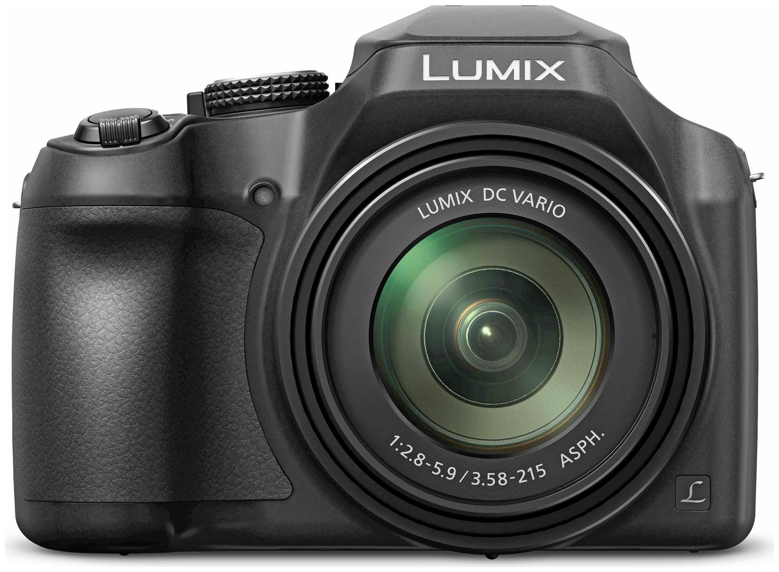 Panasonic FZ82 18MP 60x Zoom Bridge Camera - Black