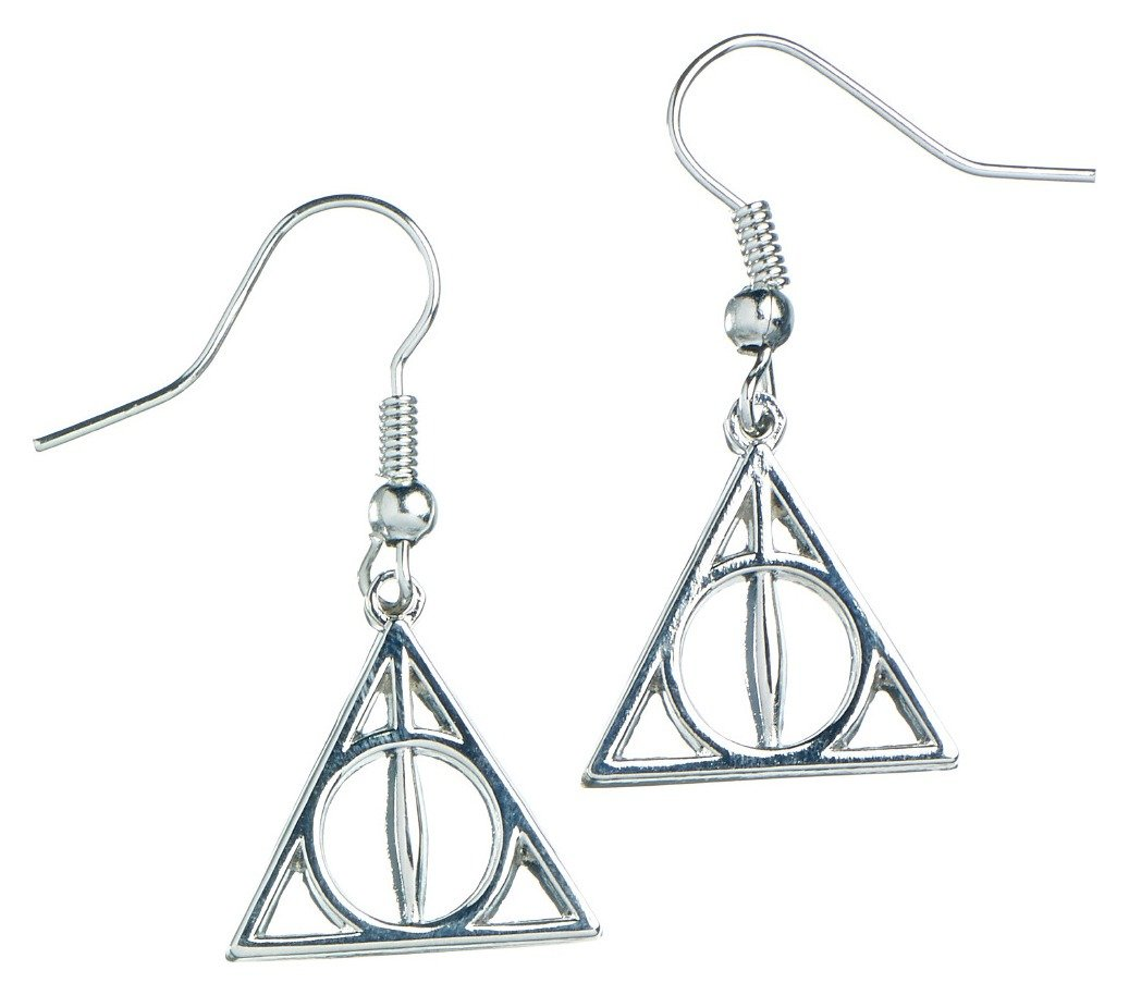 Image of Harry Potter Deathly Hallows Earrings