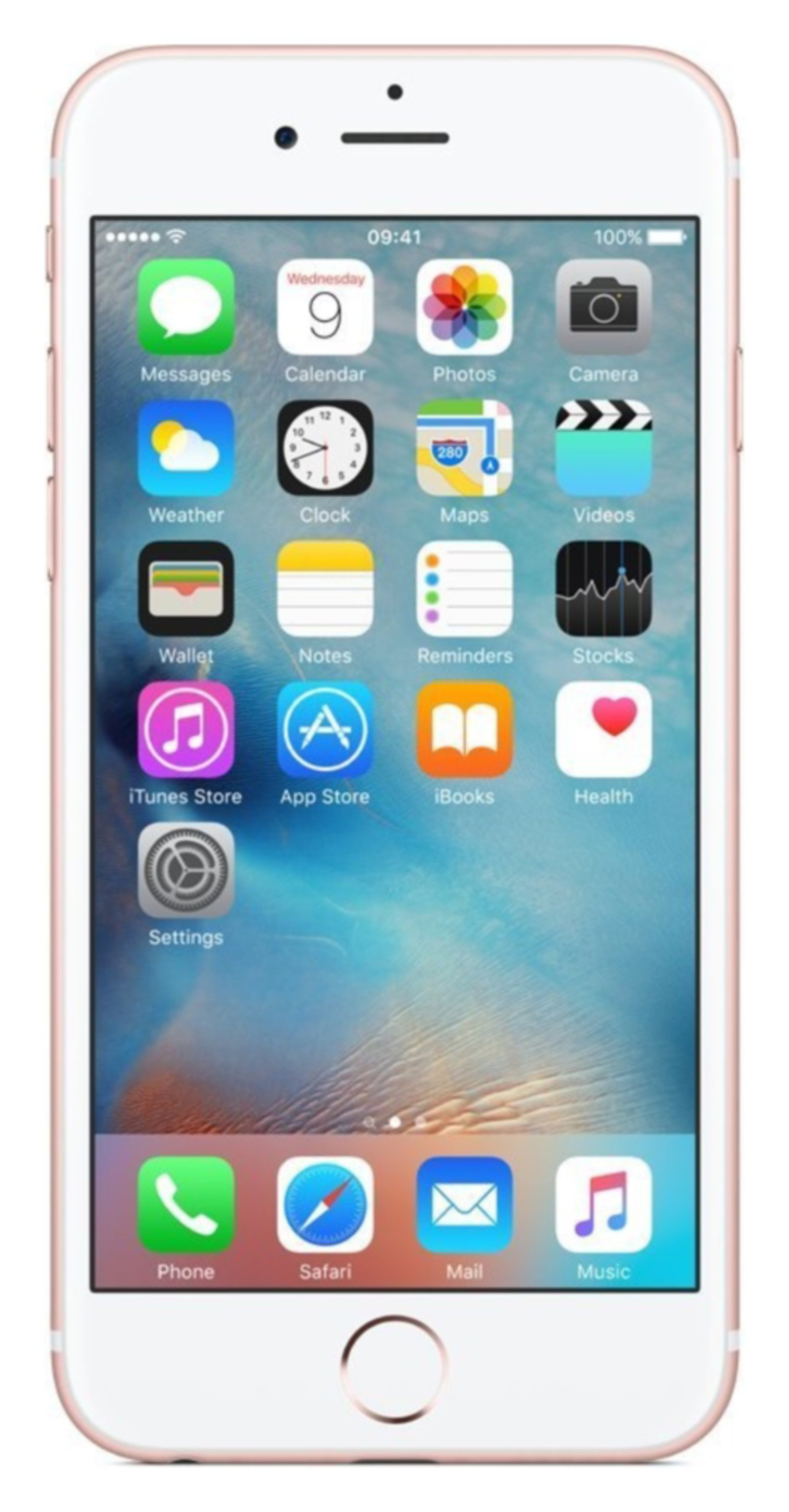 SIM Free iPhone 6S 16GB Refurbished Mobile Phone - Rose Gold