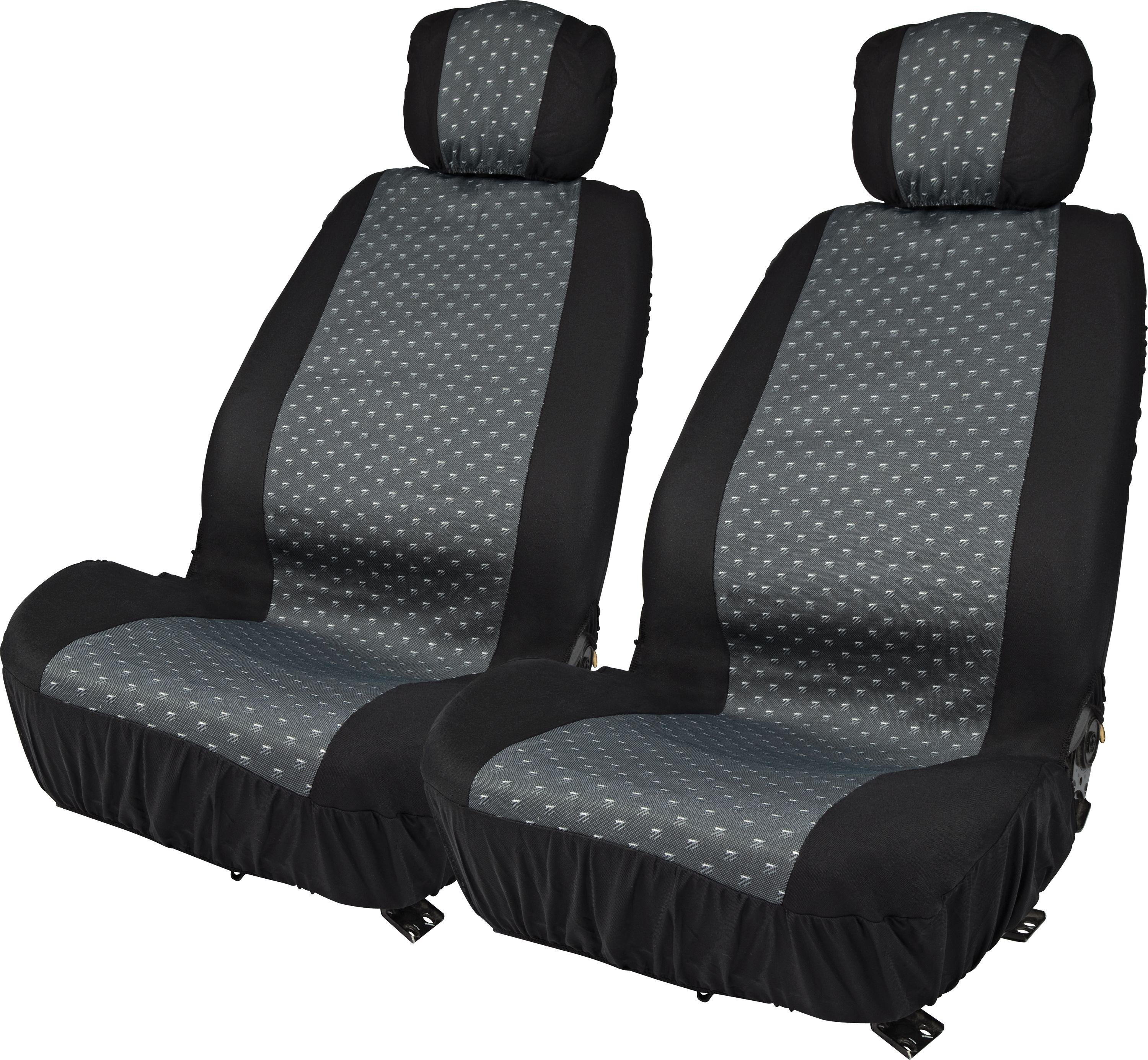 Simple Value Front Car Seat & Headrest Covers - Set of 2