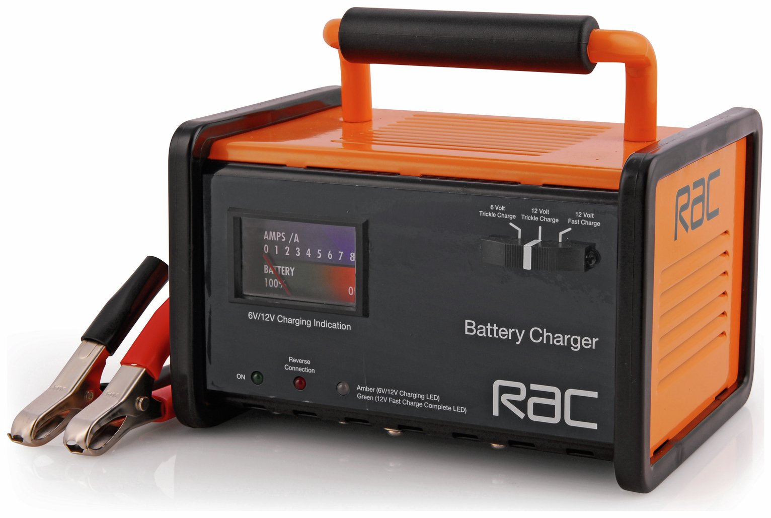 RAC 6/12V Trickle Car Battery Charger