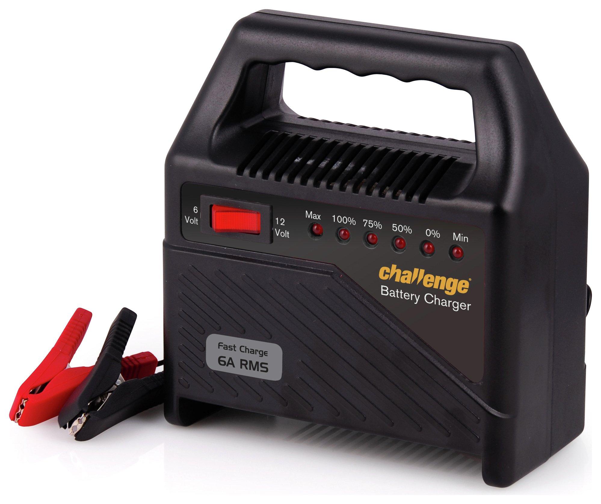 Challenge 12V Trickle Car Battery Charger