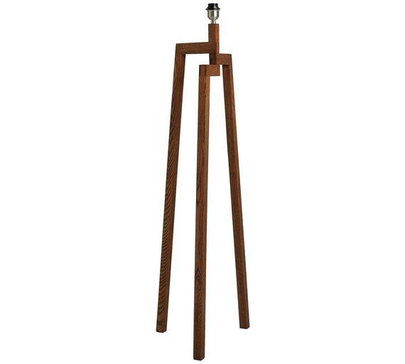 Buy habitat dylan wooden floor lamp walnut floor lamps argos habitat dylan wooden floor lamp walnut aloadofball Images