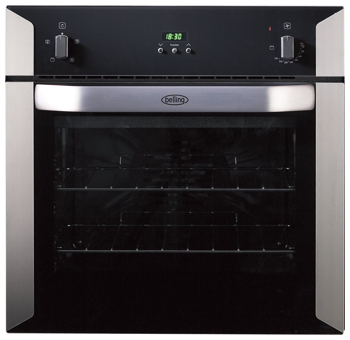 Image of Belling BI60FP Electric Built-In Single Oven - S/Steel & Installation