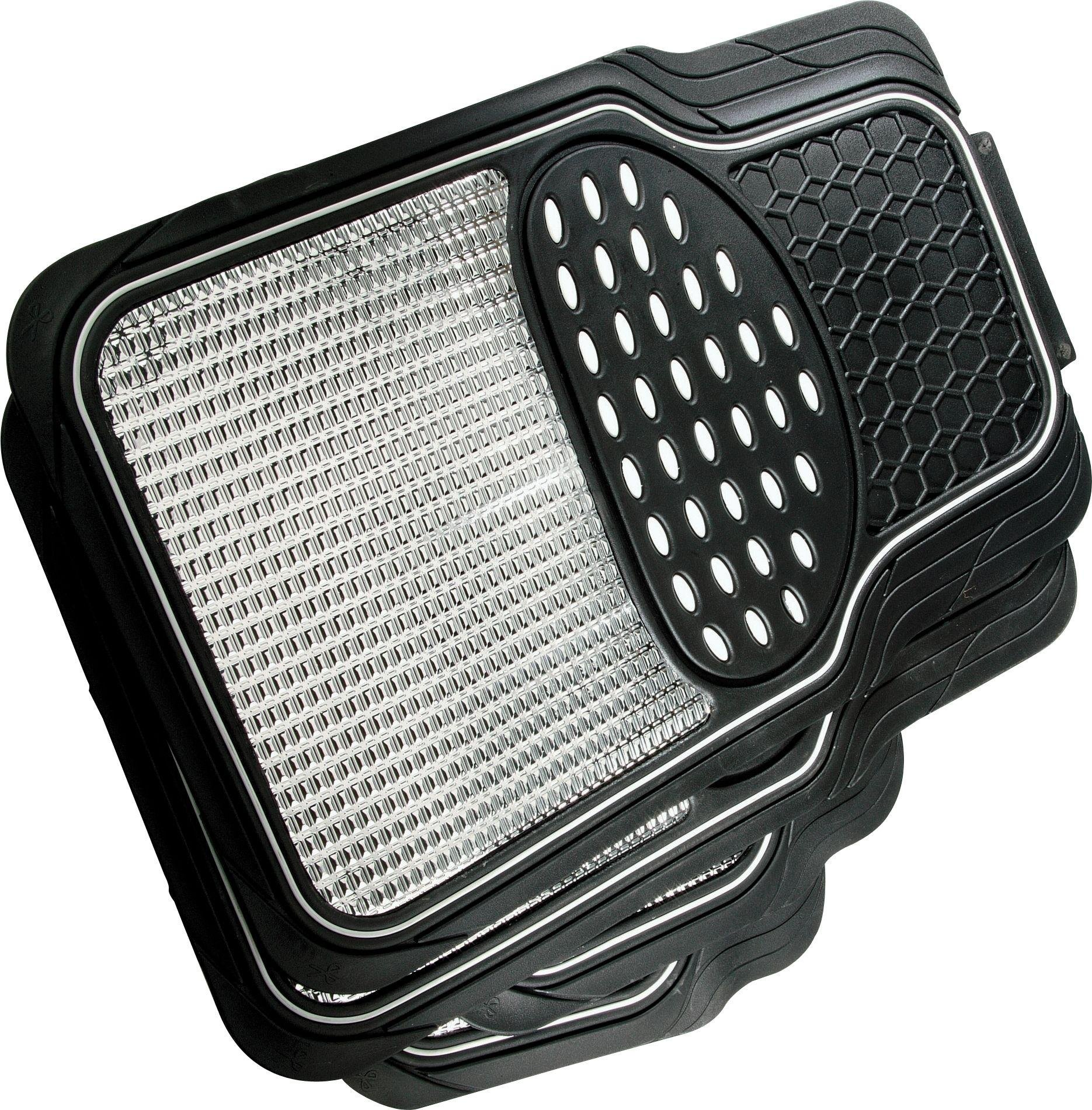 Image of Streetwize - Set of 4 Heavy Duty Rubber Car Mats