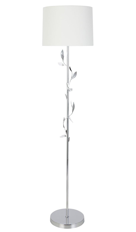 Argos Home Ashley Leaf Floor Lamp - Chrome