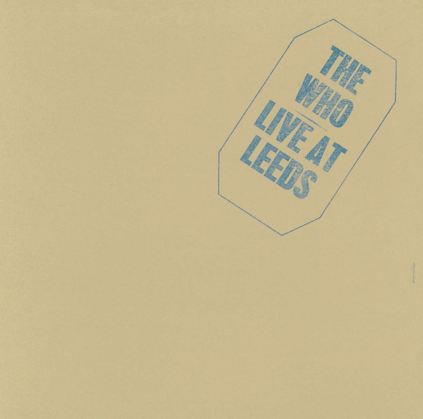 The Who Live at Leeds (1970) Vinyl