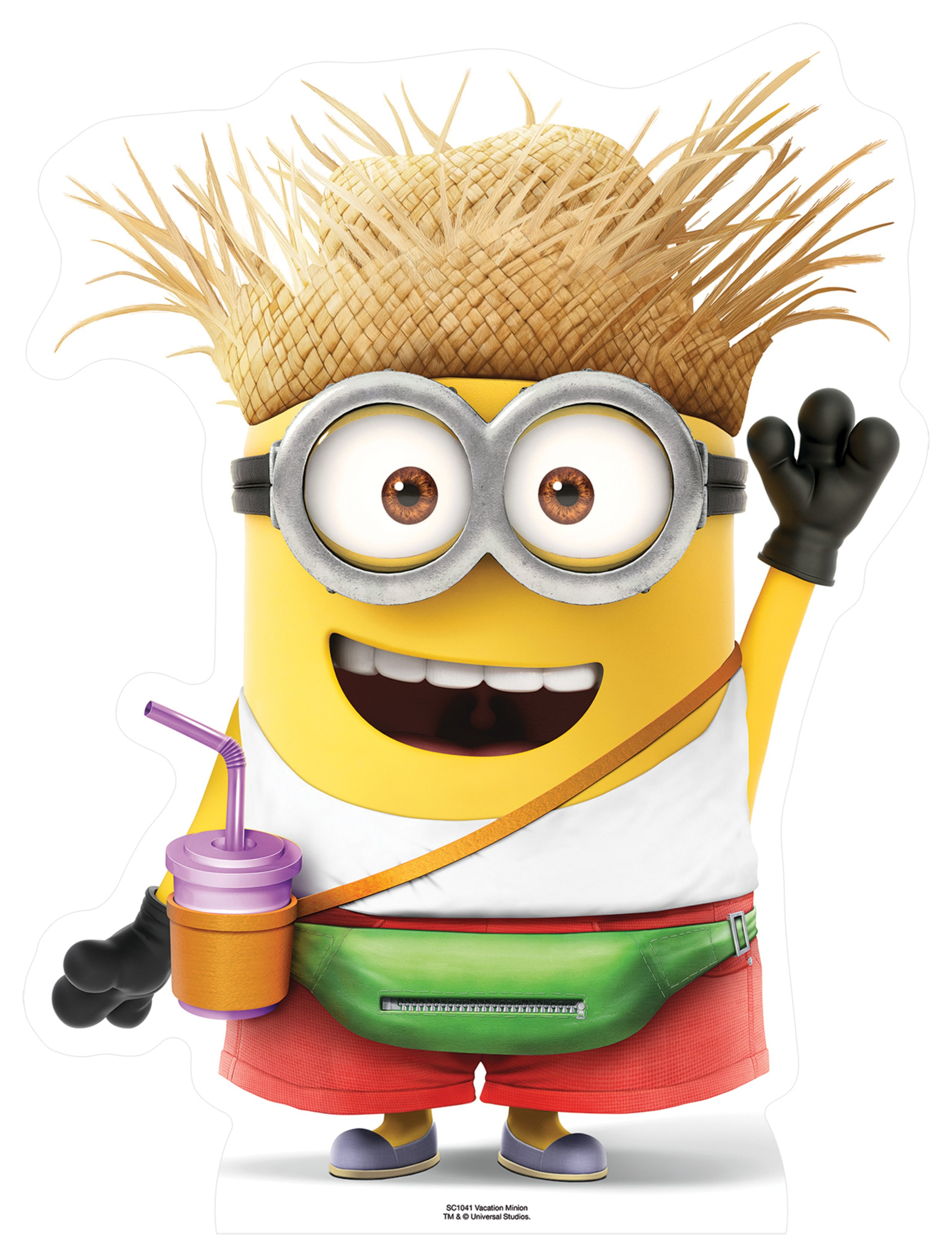 Despicable Me 3 Vacation Minion Cardboard Cutout