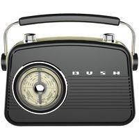 Bush Classic Retro Mini FM Radio - Black