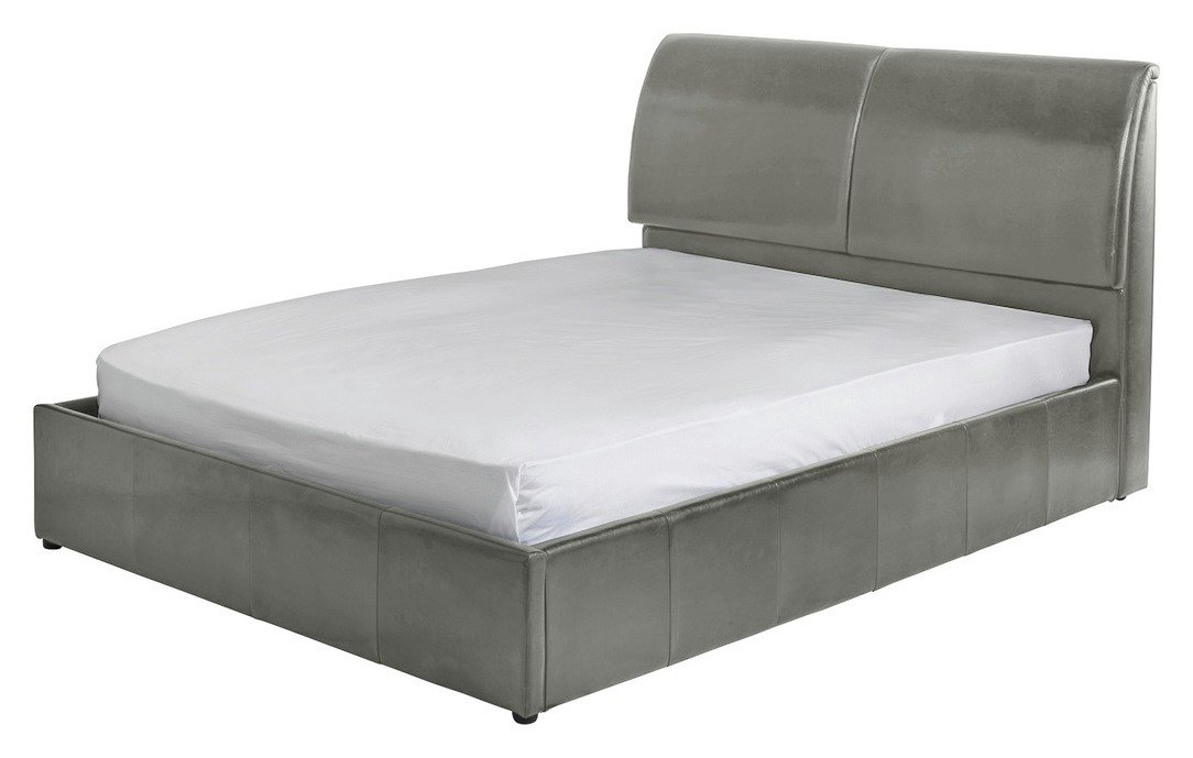 Argos Home Vince Double Ottoman Bed Frame - Grey