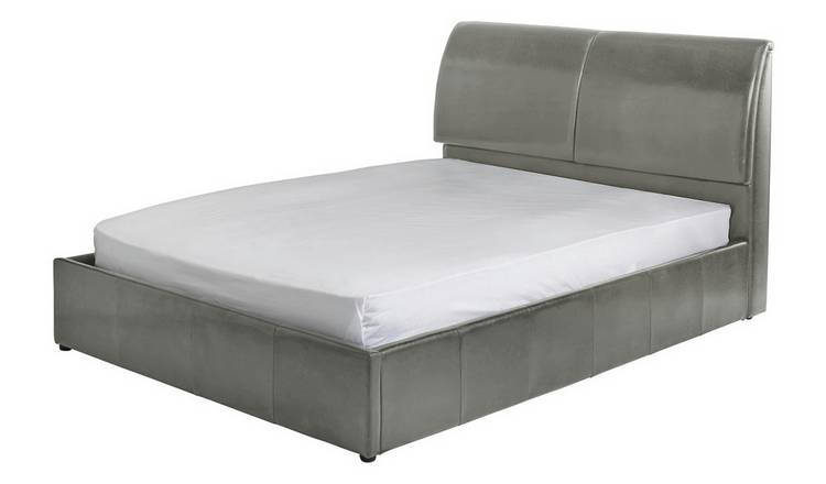 Excellent Buy Argos Home Vince Double Ottoman Bed Frame Grey Bed Frames Argos Andrewgaddart Wooden Chair Designs For Living Room Andrewgaddartcom