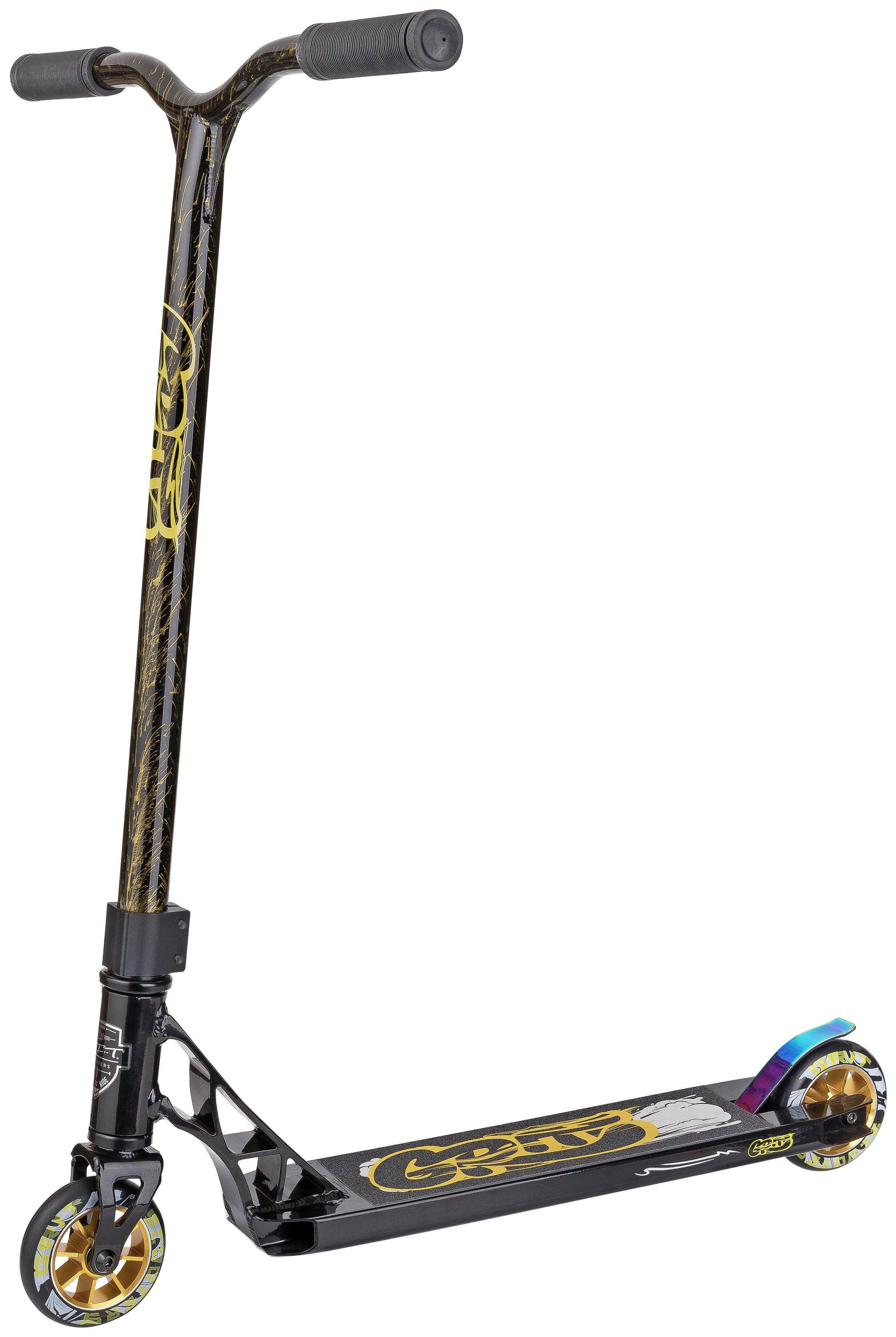 Image of Grit Fluxx Stunt Scooter - Black & Gold