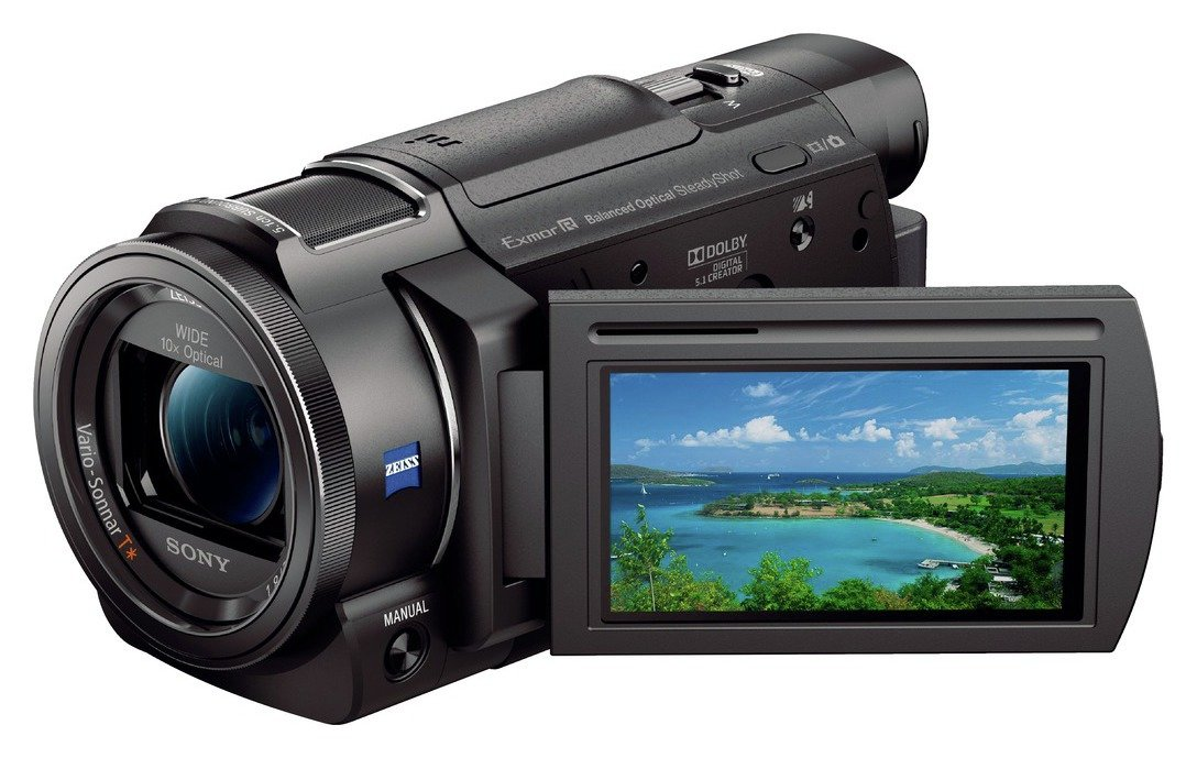Image of Sony AX33 4k Camcorder