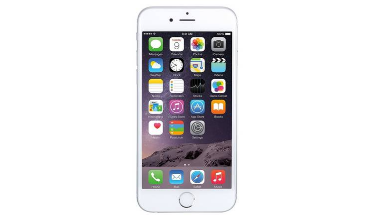 brand new ff04b 2afbc Buy SIM Free iPhone 6 16GB Pre-Owned Mobile Phone - Silver | Mobile phones  and accessories | Argos