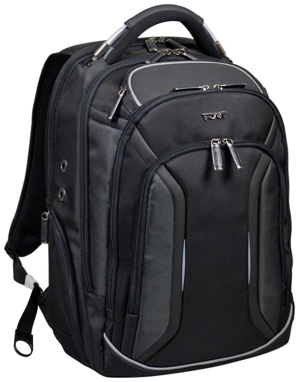 Port Designs Melbourne 15.6 Inch Laptop Backpack - Black