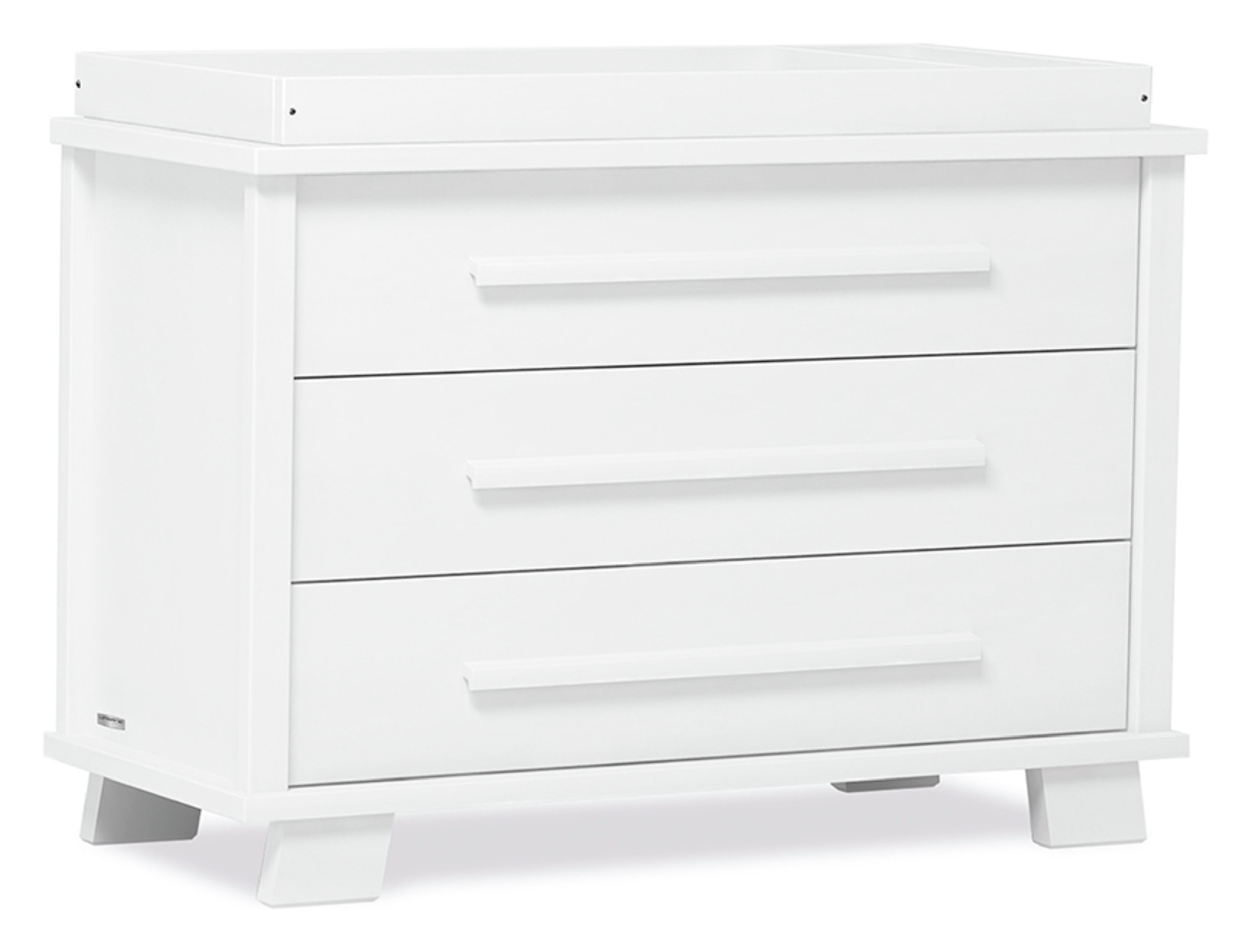 Image of Lucia 3 Drawer Chest - White